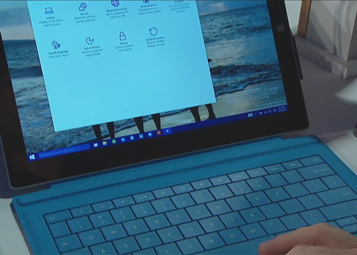 windows 10 en surface pro 3