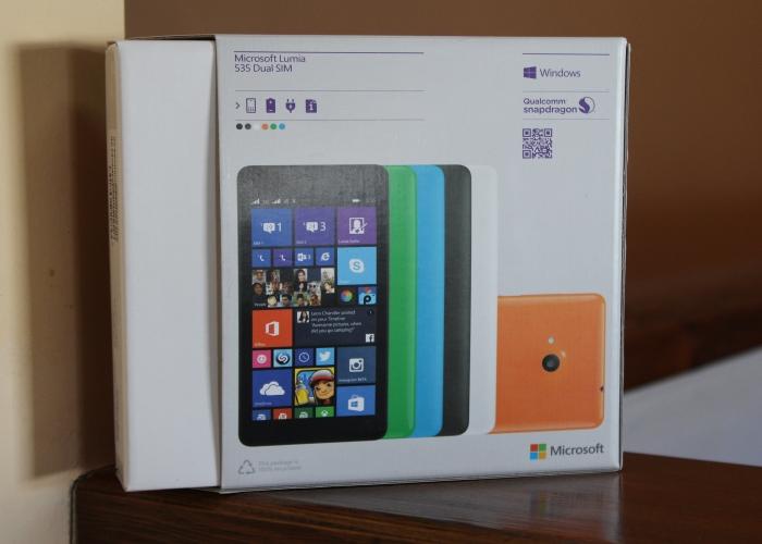 Caja Microsoft Lumia 535
