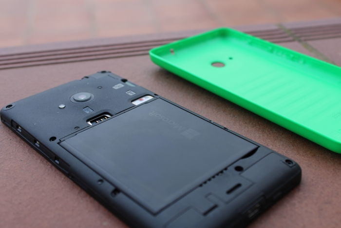 Entradas tarjeta SIM Microsoft Lumia 535