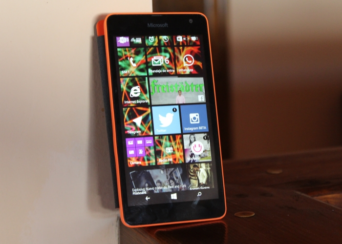 Pantalla Lumia 535