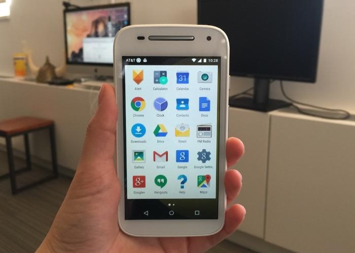Pantalla Motorola Moto E