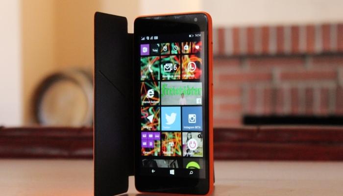 Problemas sensibilidad de la pantalla del Lumia 535