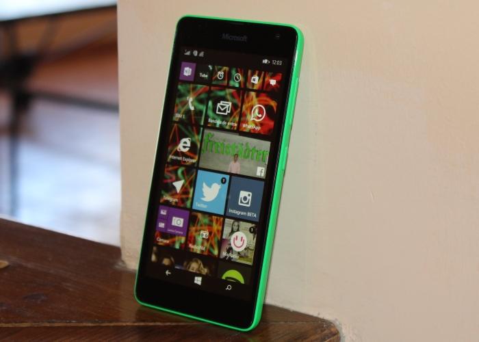 Vídeo del Lumia 535