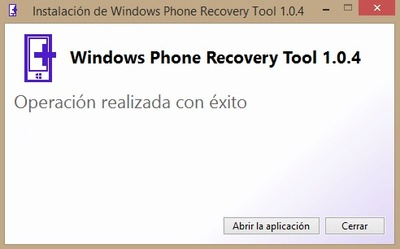 Windows Recovery Tool captura 2