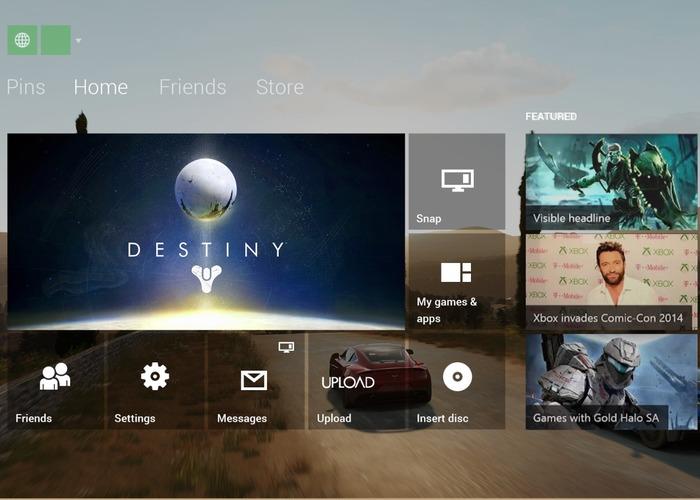 Xbox Live en Xbox One