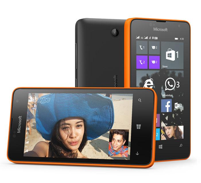 Lumia-430_diseño