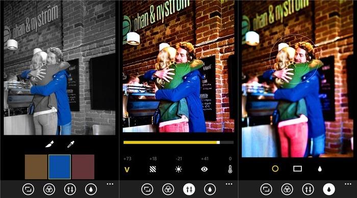 Lumia Creative Studio capturas