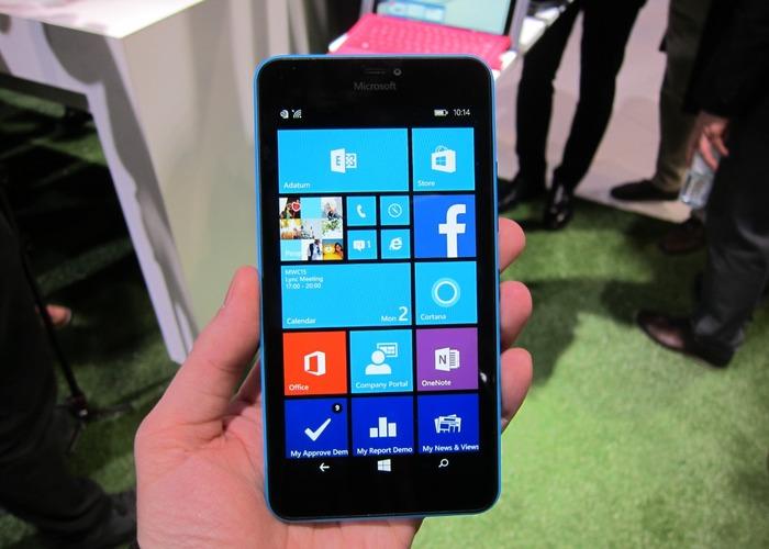 Microsoft Lumia 640 XL cabecera
