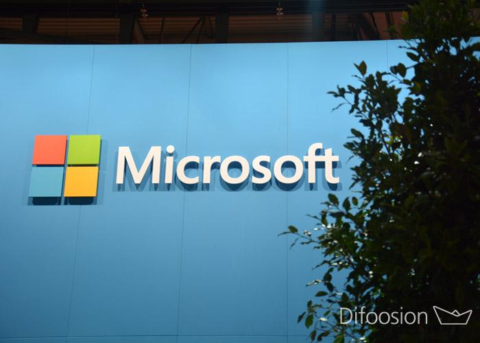 Microsoft stand