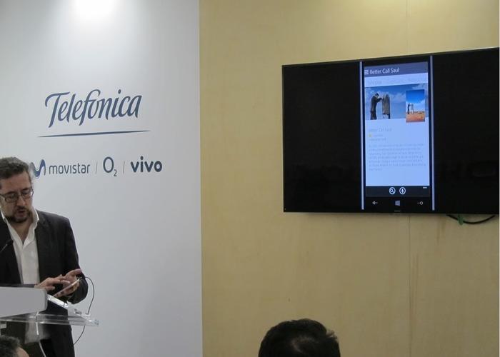 Movistar TV Cortana