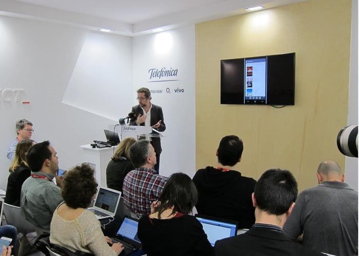 Movistar evento Mobile World Congress
