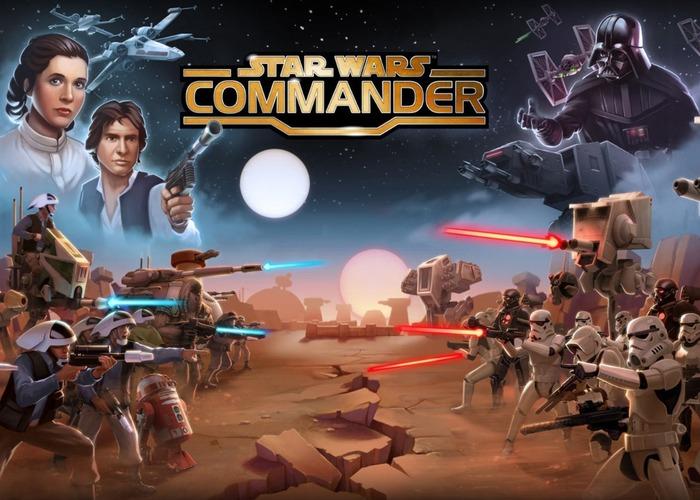 Star Wars Commander cabecera