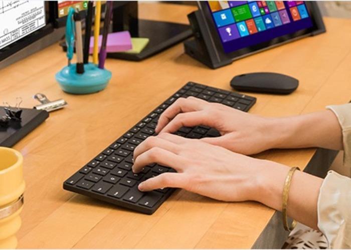 Teclado y raton bluetooth Microsoft