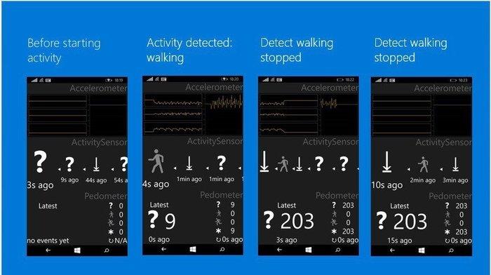 Windows 10 para móviles nuevos sensores 1