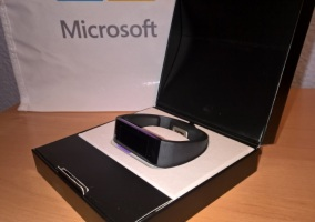 microsoft band caja
