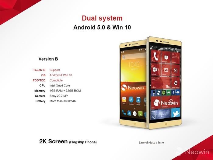 Elephone dual OS