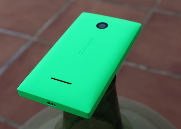 Parte trasera Lumia 435