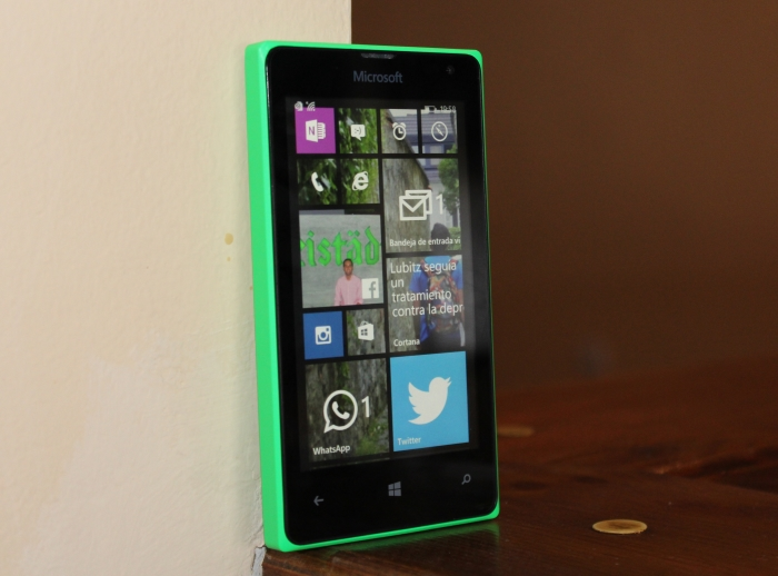 Windows Phone 8.1 en un Lumia 435