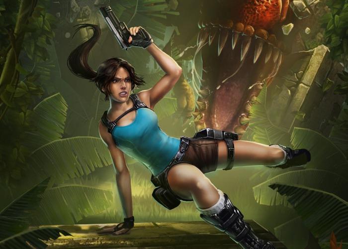 Lara Croft Relic Run cabecera