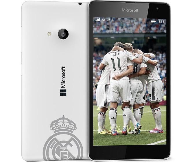 Lumia 535 Real Madrid 2