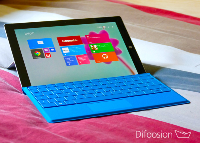 Surface 3 con Windows 8