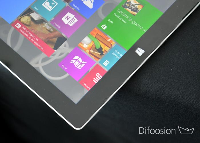 Surface 3 inicio