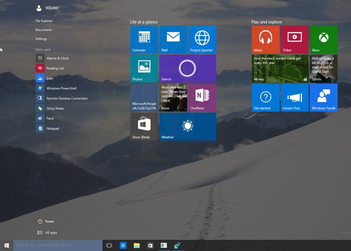 Windows 10 Build 10056