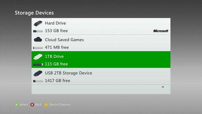 Xbox 360 disco duro 2 TB