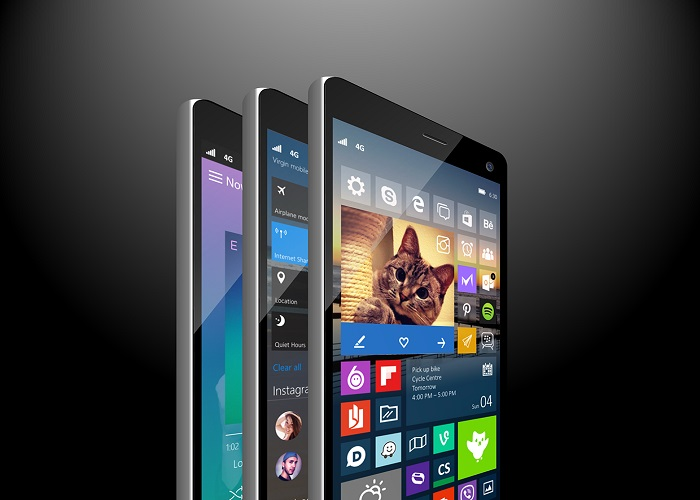 Concept Windows 10 Mobile