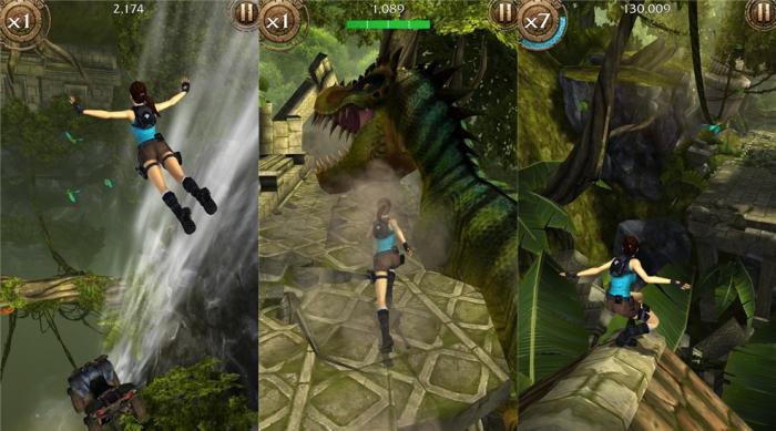 Lara Croft Relic Run capturas