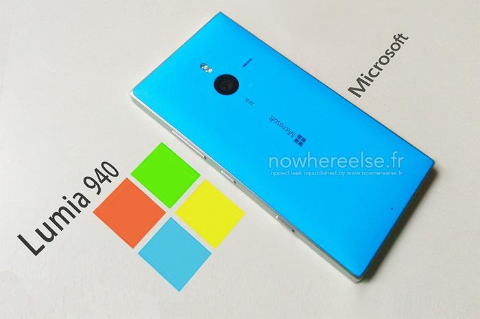 Microsoft-Lumia-940-Bleu-fake