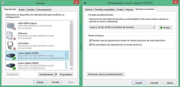 Solucion sonido Windows 10 Build 10130