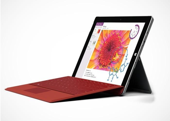 Surface 3 lanzamiento cabecera