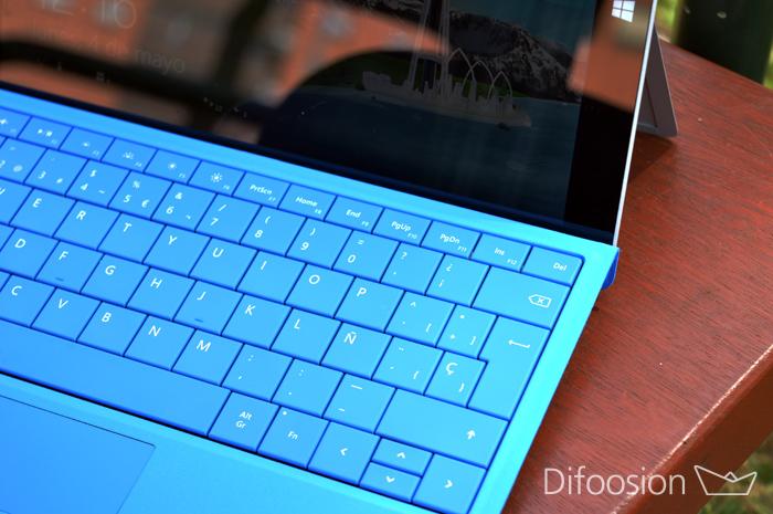 Teclado Surface 3