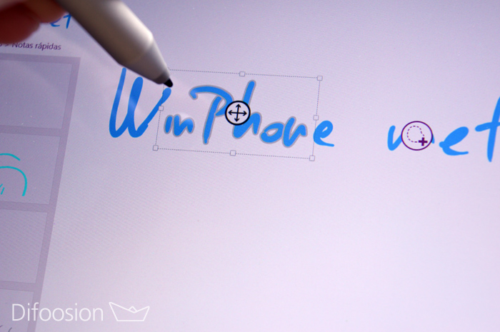 Uso Surface Pen y Surface 3