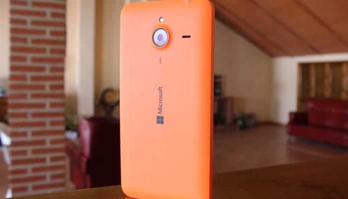 Cámara trasera del Lumia 640 XL