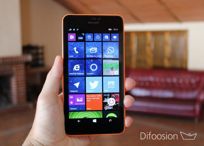 Lumia 640 XL análisis