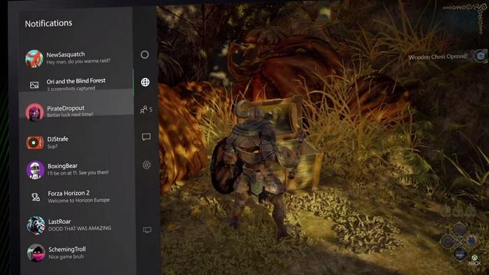 Notificaciones Xbox One
