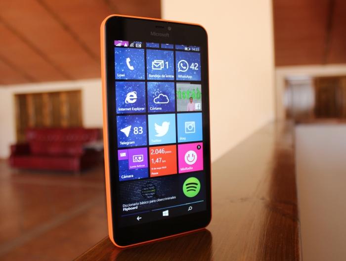 Panel del Lumia 640 XL
