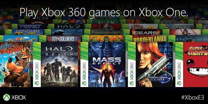 Retrocompatibilidad Xbox One y Xbox 360