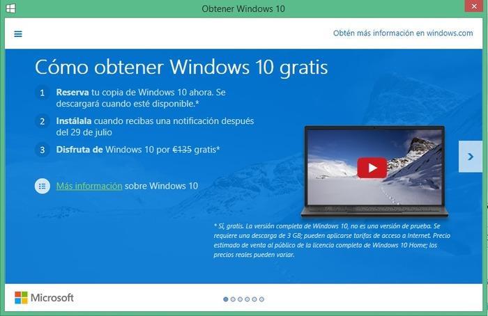 Windows 10 Home precio en España