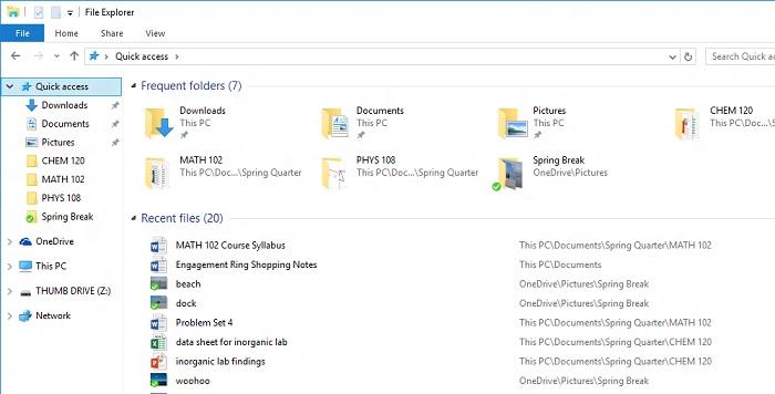 Windows-10-quick-access