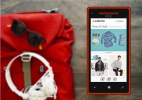 ZAlando aplicación en Windows Phone