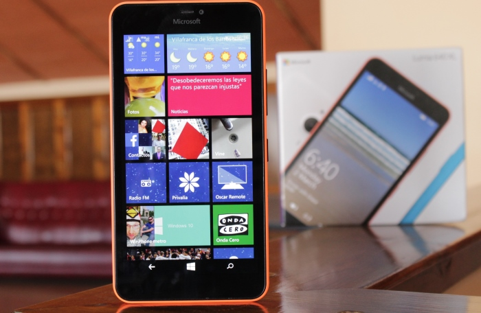 pantalla Lumia 640 XL