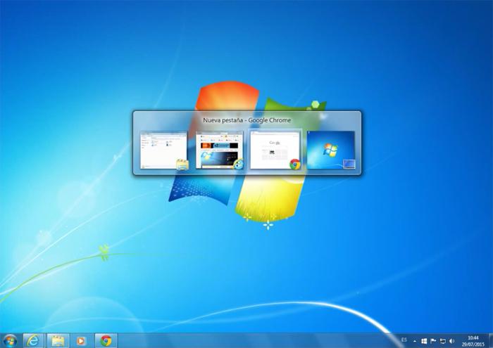 Diseño Windows 7