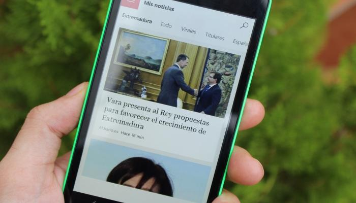 Conocemos la suite MSN para Windows 10 Mobile