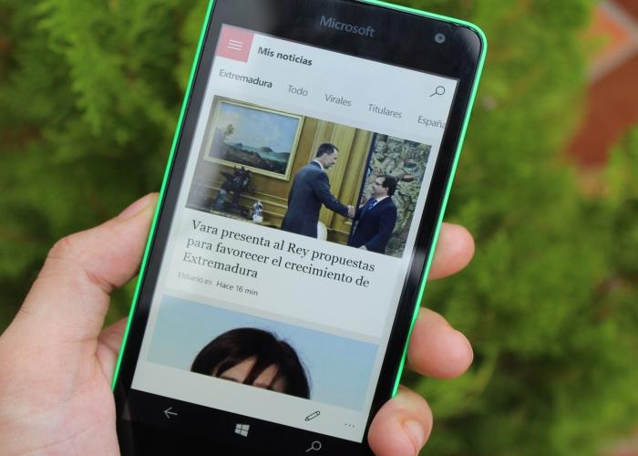 Conocemos la suite MSN para Windows 10 Mobile