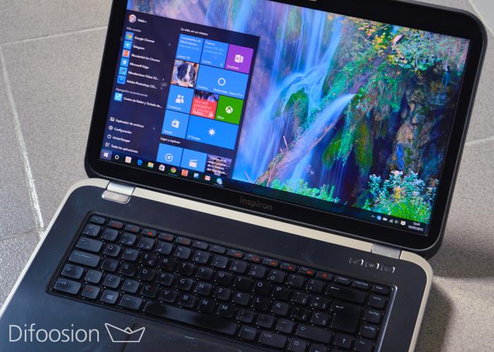 Windows 10 escritorio editores