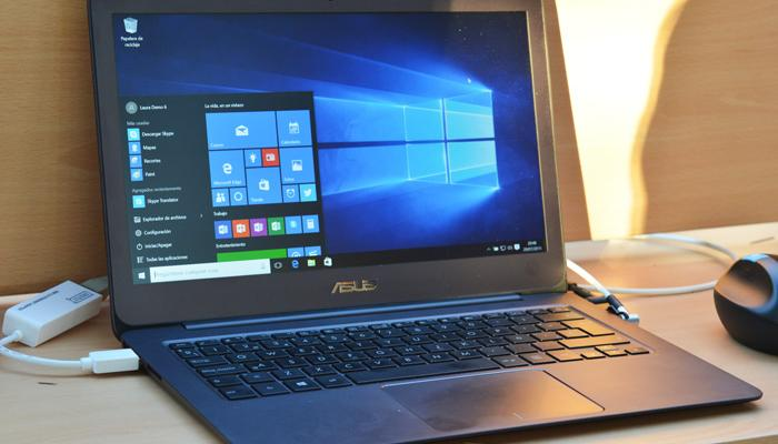 ASUS UX305 Windows 10