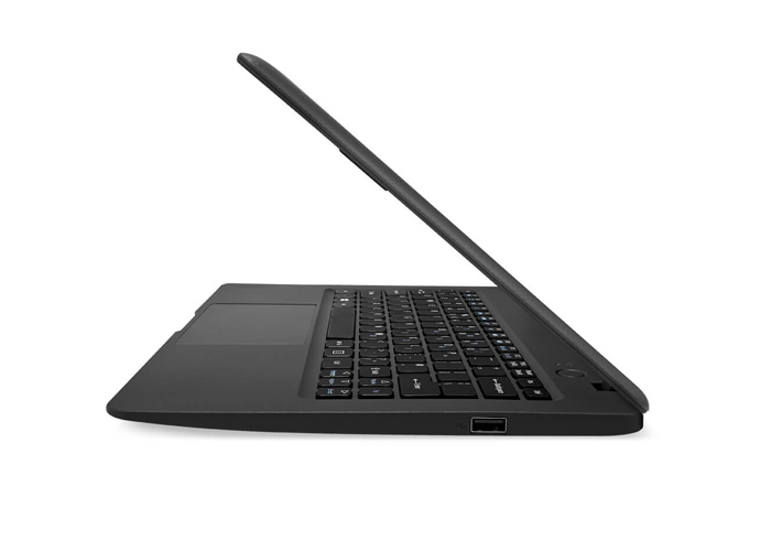 Acer Aspire One Cloudbook con Windows 10 lateral